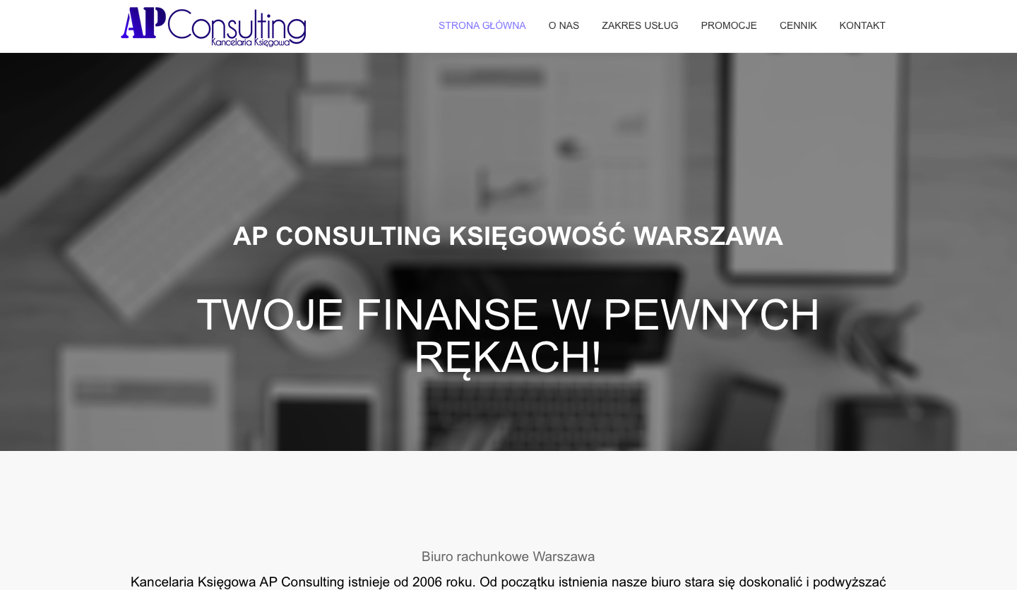 AP Consulting strona internetowa - ForWebsite